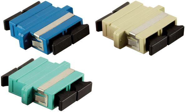 LogiLink LWL Kupplung, 2 x SC-Duplex, Multimode, violett