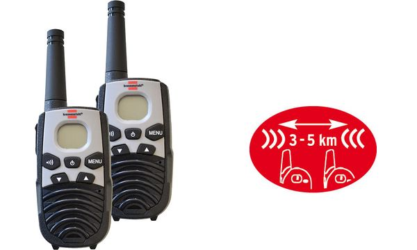 brennenstuhl PMR-Funkgerät Set Walkie Talkie TRX 3500