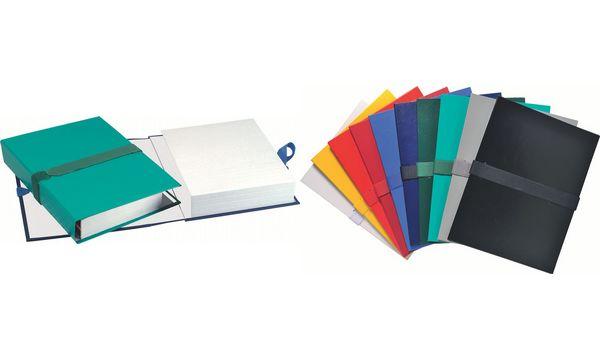 EXACOMPTA Dokumentenmappe mit Klettverschluss, hellgrün