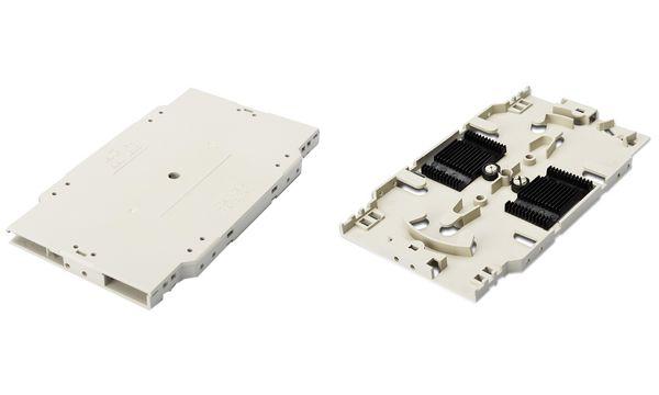 DIGITUS LWL Spleißkassette zur Aufnahme von 24 Glasfasern