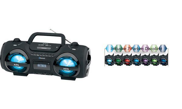 AEG Stereo CD-Radio Soundbox SR 4359 BT, schwarz