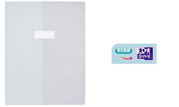ELBA Heftschoner, DIN A4, glatt, transparent-farblos