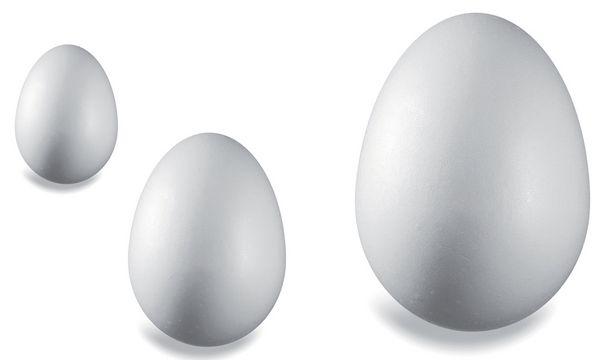 KNORR prandell Styroporei, Höhe: 60 mm, weiß