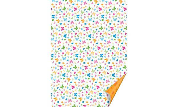 #10xHEYDA Bastelkarton Schmetterlinge, DIN A4, 200 g/qm