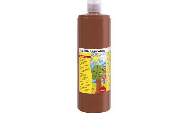 EBERHARD FABER Fingerfarbe EFA Color, rötel, 750 ml