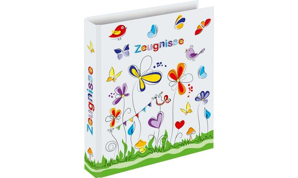 RNK Verlag Zeugnisringbuch Schmetterlinge, DIN A4