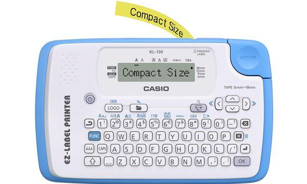CASIO Hand-Beschriftungsgerät Labelprinter KL-130