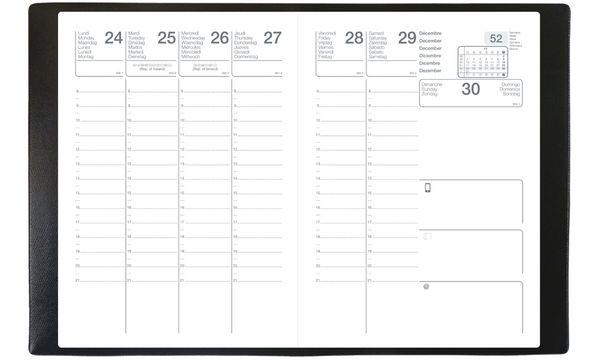 QUO VADIS Agenda scolaire SCOLEXDI ML 2019/2020, noir