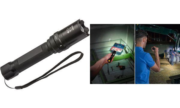 brennenstuhl LED-Taschenlampe LuxPremium Akku-Fokus-Sele...