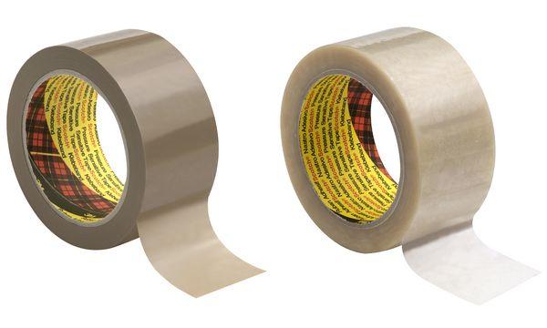 3M Scotch Verpackungsklebeband 6890, 50mm x 66m, braun