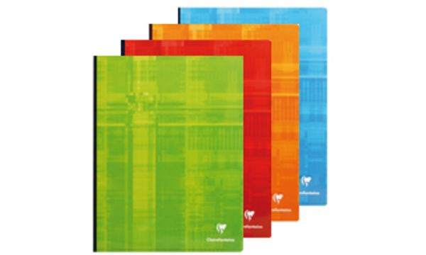 Clairefontaine Cahier broché, 240 x 320 mm, 288 pages