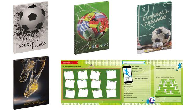 PAGNA Freundebuch Fairplay, 120 g/qm, 60 Blatt