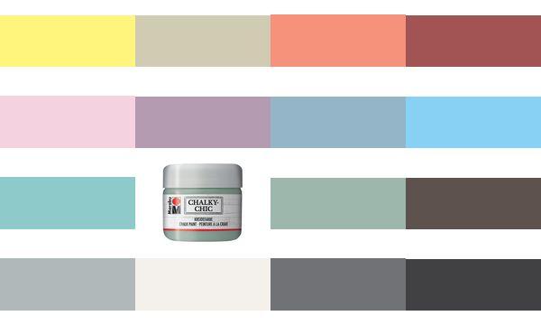 Marabu Kreidefarbe Chalky-Chic, 225 ml, puderrosa