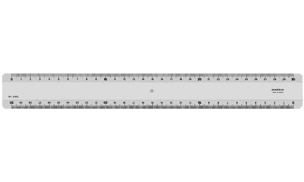 MINERVA Lineal, Länge: 300 mm