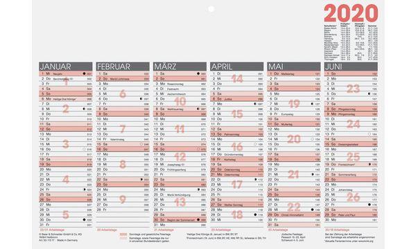 Glocken Tischkalender Tafelkalender, 2019, DIN A4 quer