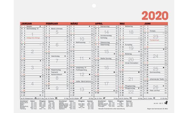 Glocken Tischkalender Tafelkalender, 2019, DIN A5 quer