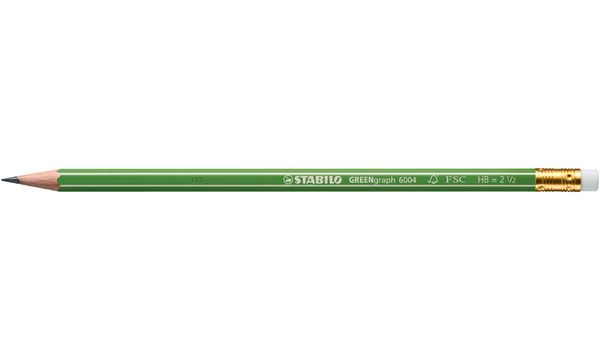STABILO Bleistift GREENgraph, sechseckig, Härtegrad: HB