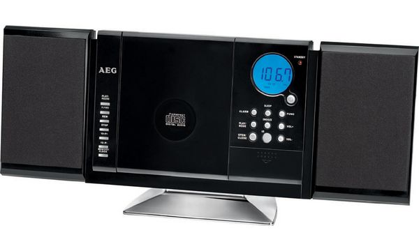 AEG Musik-Kompaktanlage MC 4421 N, schwarz
