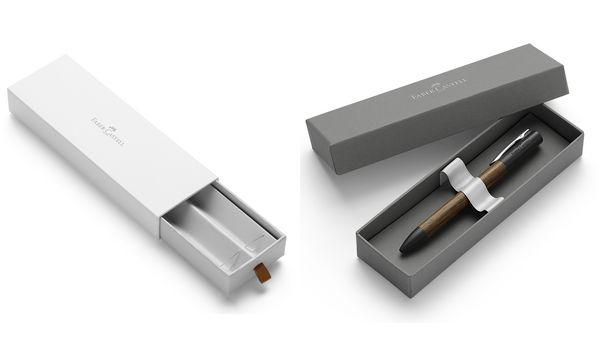 FABER-CASTELL Schreibgeräte-Etui Design, grau