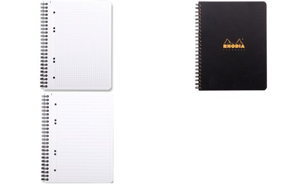 RHODIA Collegeblock Office Note Book, DIN A5, kariert