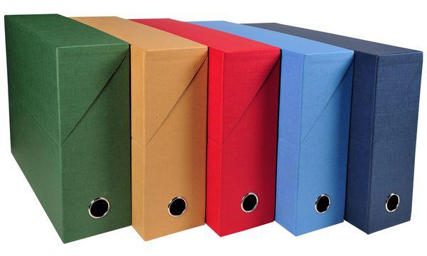 EXACOMPTA Archivbox, DIN A4, Karton, 90 mm, grau