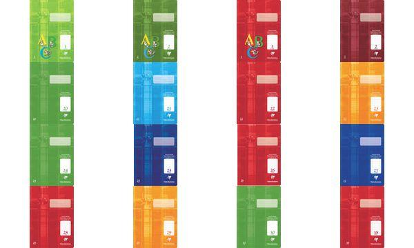 Clairefontaine Schulheft Premium, DIN A4, Lineatur 20