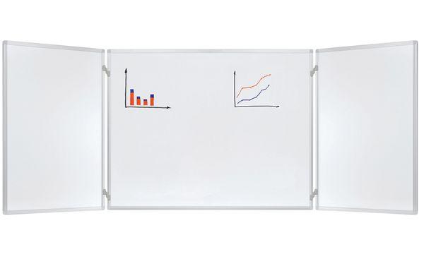 FRANKEN Klapptafel, 2 Flügel, (B)900 x (H)600 mm, lackiert