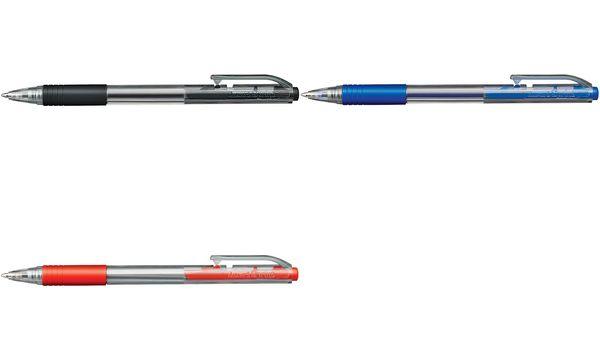 Luxor Druck-Kugelschreiber Sprint Grip, rot