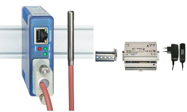 W&T Steckernetzteil 100 - 240 V, 50-60 Hz, 24V/0,22 A DC...