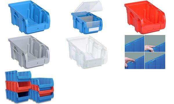 allit Sichtlagerkasten ProfiPlus Compact 2, aus PP, blau