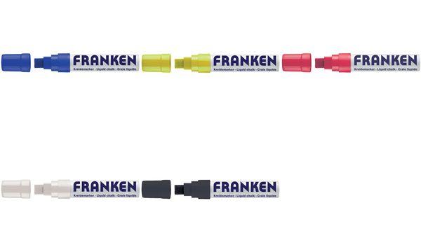 FRANKEN KreideMarker Jumbo, Strichstärke: 5-15 mm, schwarz