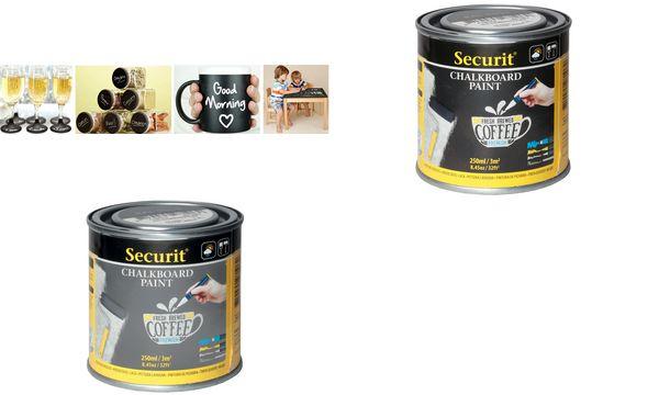 Securit Tafellack PAINT, grau, 250 ml