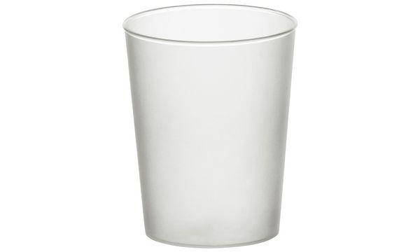 STARPAK Kunststoff-Schnapsglas, 4 cl, satiniert