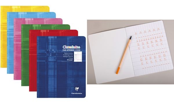 Clairefontaine Cahier piqûre, 170 x 220 mm, 32 pages