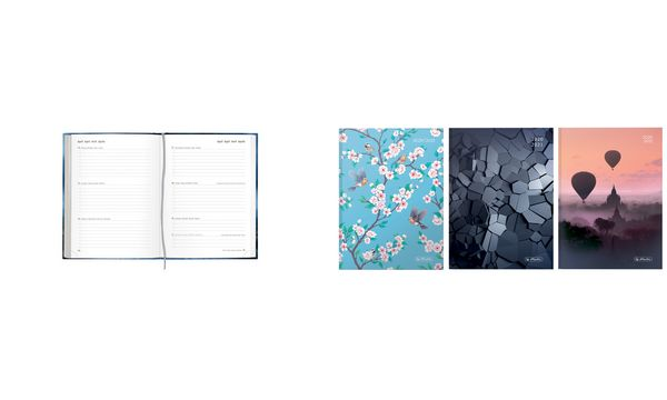 herlitz Schülerkalender Basic 2, 2019/2020, DIN A5
