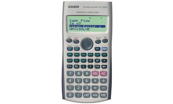 CASIO Calculatrice scientifique FC 100V