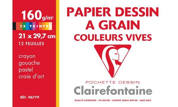 Clairefontaine Künstlerpapier à Grain, 210 x 297 mm