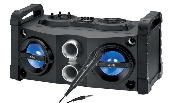 AEG Musik-Entertainment Center EC 4835, schwarz