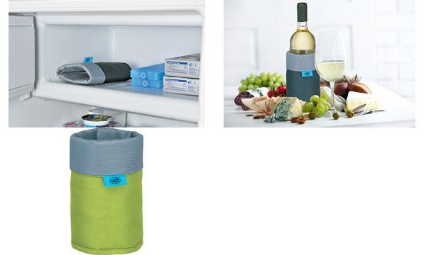 alfi Kühlmanschette / Flaschenkühler ISOWRAP, apfelgrün