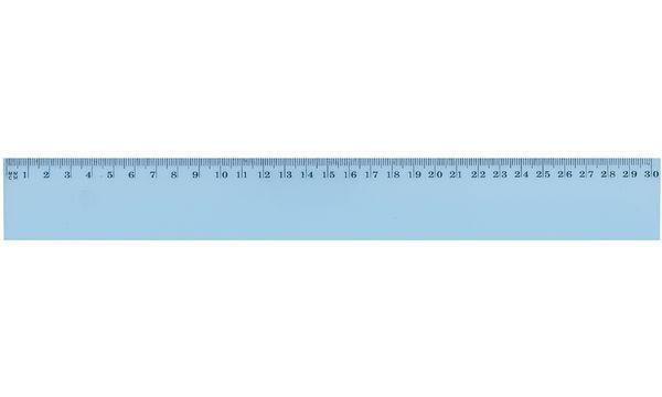 JPC Flachlineal, 400 mm, aus Kunststoff, bruchfest