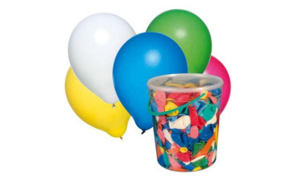 SUSY CARD Luftballons, farbig sortiert, 500 Stück