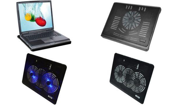 ednet Notebook-Ständer Cooling Stand, bis 43,94 cm