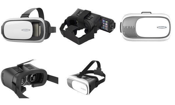 ednet Virtual Reality (VR) Brille, für Smartphones