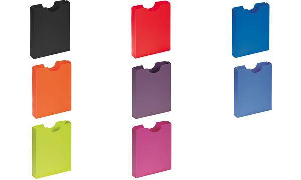 PAGNA Heftbox DIN A4, Hochformat, aus PP, blau