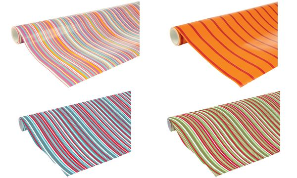 Clairefontaine Geschenkpapier Streifen, auf Rolle