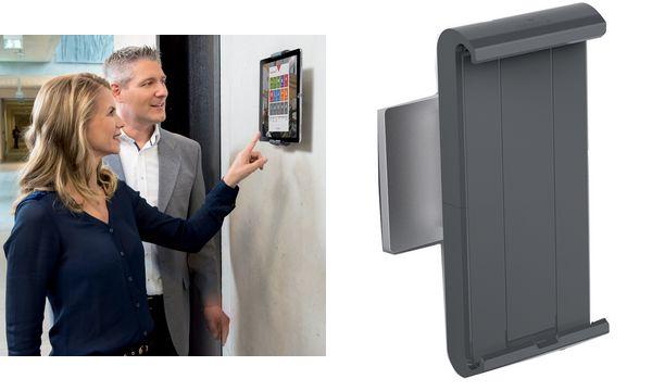 DURABLE Tablet-Wandhalterung TABLET HOLDER WALL