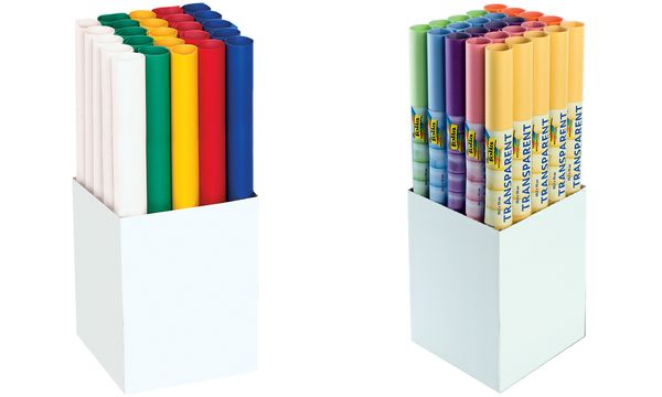 folia Transparentpapier, (B)505 x (L)700 mm, Display