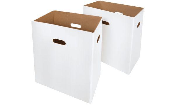 HSM Kartonbox für Aktenvernichter SECURIO B32, AF500