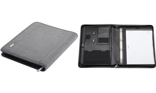 Alassio Tablet-PC Organizer A4 LAZIO, Polyester, grau