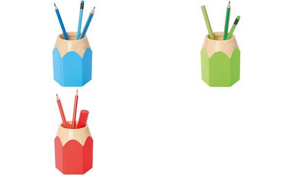 WEDO Stifteköcher PENCIL, aus Kunststoff, hellblau
